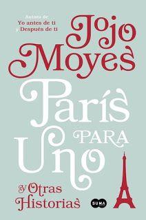 Pasa al blog para descargar tu libro DESCARGAR: París para uno y otras historias  Jojo Moyes (epub mobi PDF) http://ift.tt/2uOrrn7   Sinopsis:  Nell tiene veintiséis años y nunca ha estado en París. Ni siquiera ha pasado nunca un fin de semana romántico en ninguna parte. Viajar al extranjero no es realmente lo suyo. Pero cuando su novio no se presenta a su miniescapada Nell tendrá la oportunidad de demostrar a todos -incluso a sí misma- que se equivocan. Sola en París descubre una versión de…