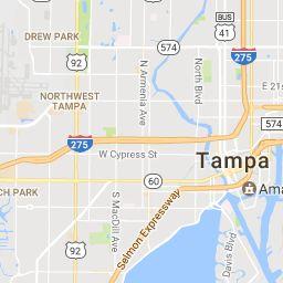 nice Map of Miami Florida