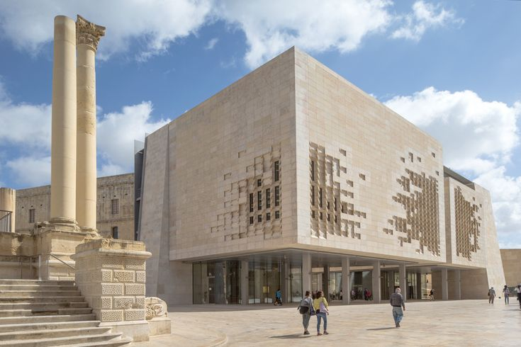 Experience Renzo Piano's Valletta City Gate Through This Captivating Photo Series