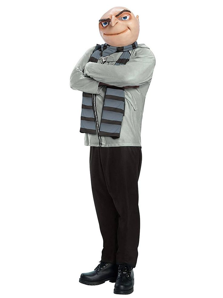 Get the same costume to dress as Felonious Gru, voiced by Steve Carell, from the movies Despicable Me and The Minions. Find this Pin and more on Costume and Cosplay Guide by Costume Wall.