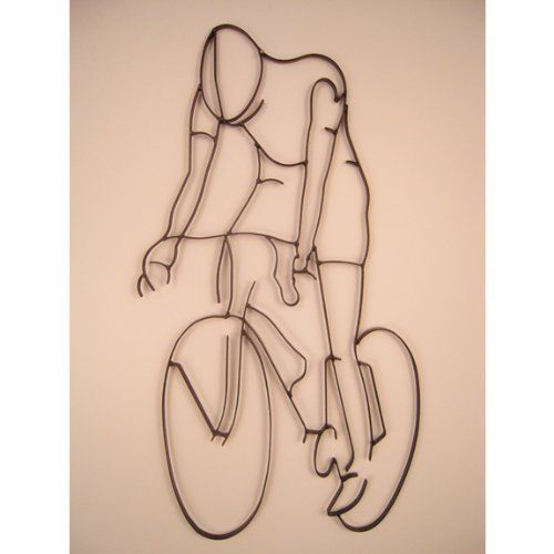 919 best home kitchen images on pinterest - Wrought iron bicycle wall art ...
