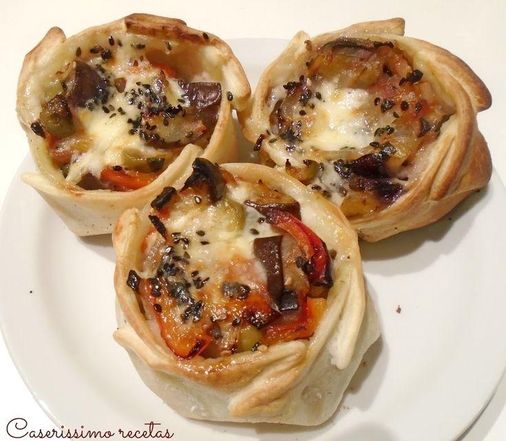 Canastitas mediterráneas | Cocina