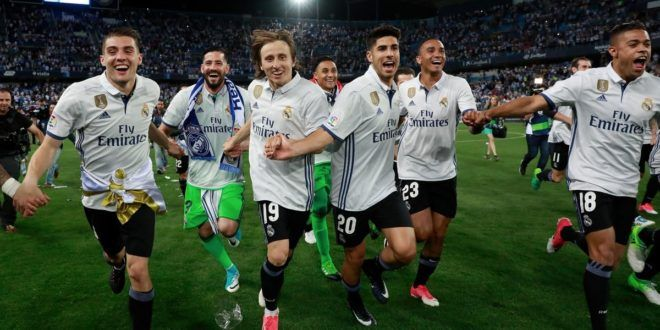 Twitter Reactions Real Madrid's La Liga Triumph In Five Years: Los Blancos finally ended five years ...