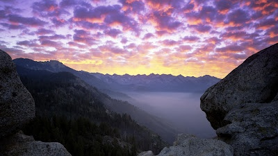 Moro Rock Sequoia National Park California iPhone 5 Nature Wallpapers