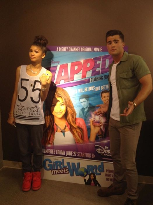 """Zendaya Coleman And Spencer Boldman Want To Change The Name Of Their Movie """"Zapped"""""""