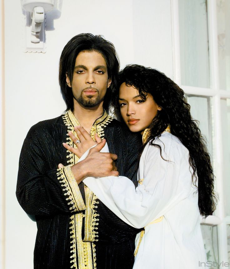 Take a Look Back at InStyle's Home Tour of Prince's Spanish Villa in 2000 - Prince and Then-Partner Mayte Garcia in Their Marbella Villa - from InStyle.com