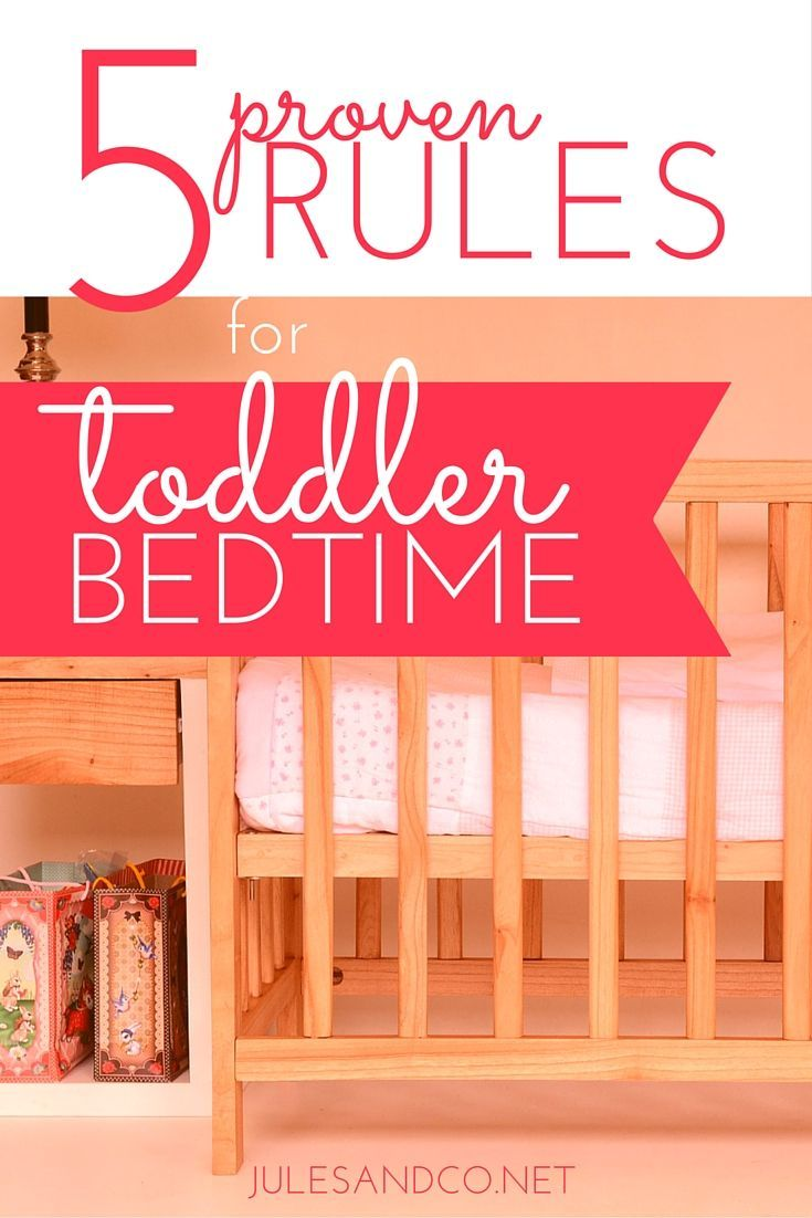 """Is your toddler's bedtime a struggle every single night? Luckily for you, I've been through the """"Toddler Bedtime School of Hard Knocks"""" and lived to tell the story! Your little one will be a bedtime rock star in no time."""
