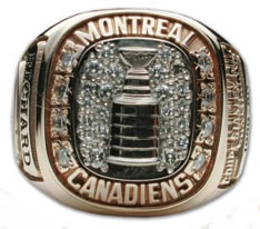 Montreal Canadiens - 1960 Stanley Cup Ring