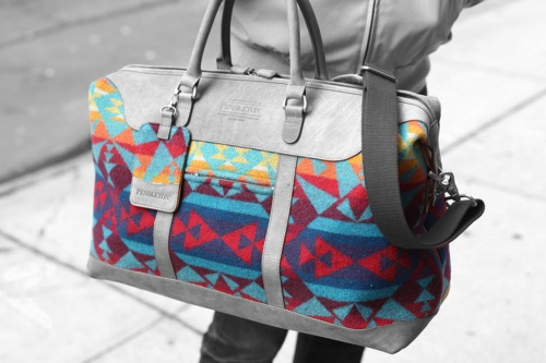 Pendelton duffle-WANT FOR A DIAPER BAG!