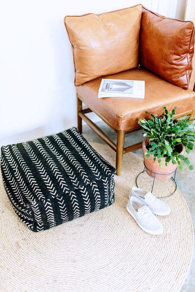 DIY Ottoman Cushion