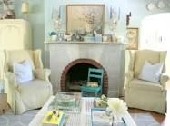 decorating living room with mint colors - Google Search