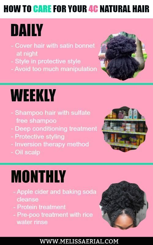 Natural hair care is important, caring for 4C natural hair is even more important, read up on how you can grow your 4C hair long.
