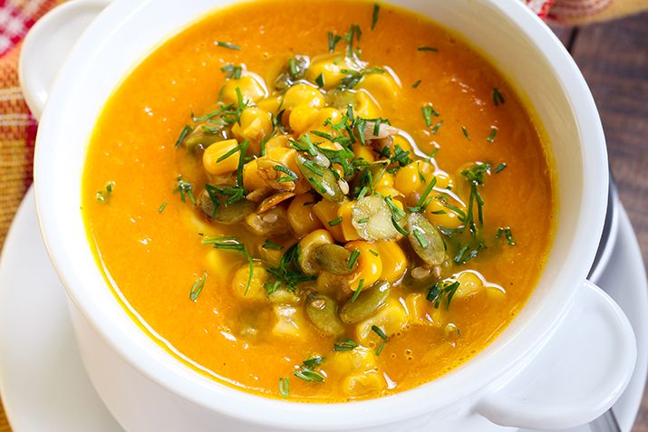 The Three Sisters (corn, squash and beans) was a Native American growing technique that capitalizes on the strengths of each individual ingredient. Cooked together they make a great soup that is popular with vegetarians and vegans. Try it on your Thanksgiving table menu.