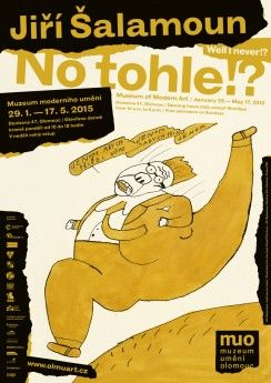 Jiří Šalamoun | No tohle?! 29. 1. – 17. 5. 2015 Muzeum moderního umění | Salon, Kabinet