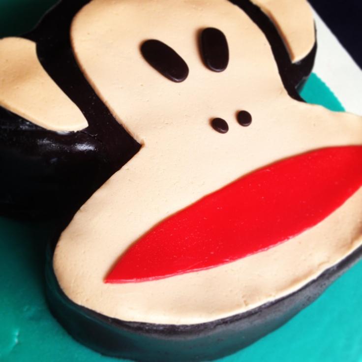 "Paul Frank cake by""Erase una vez"""