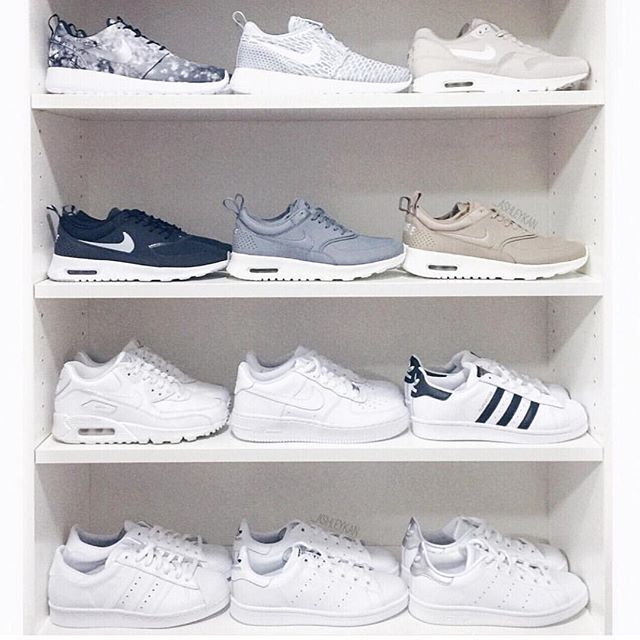 Pin for Later: Ridiculous Things Fit People Do For an Instagram (We're Guilty as Charged) Lay Out ALL Your Sneakers in a Symmetrical Way The time. The effort!
