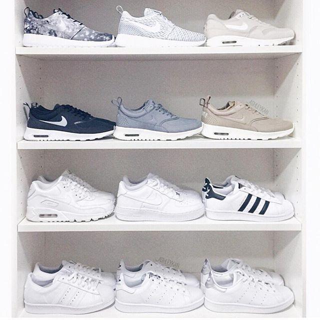 Nike Air Force Fond Blanc Instagram