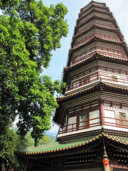 Temple of the Six Banyan Trees, Guangzhou, Guangdong, China