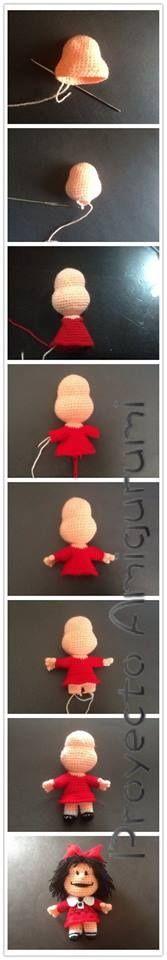Mafalda  Paso a paso