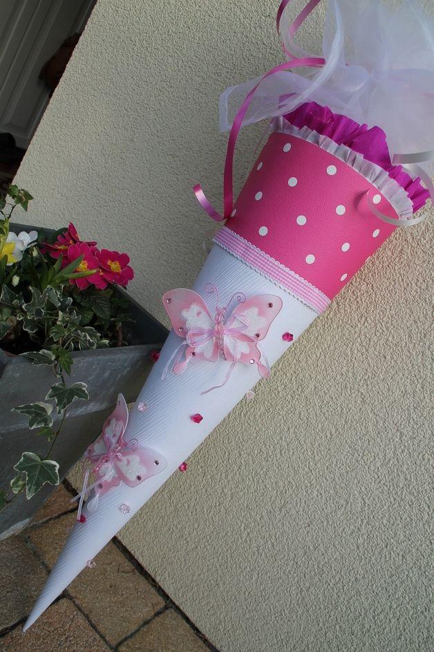 Schultüten - Schultüte Schmetterling - ein Designerstück von Kindertraumland bei DaWanda