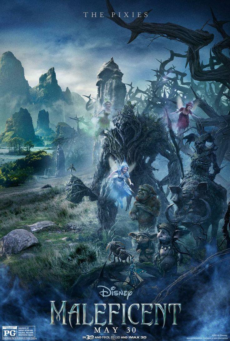 Magic creatures of Maleficent's movie