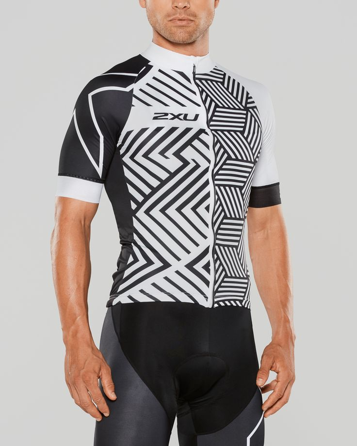 Cycling kit design Jersey and Bib Knicks by BZAK Cycling for 2XU USA