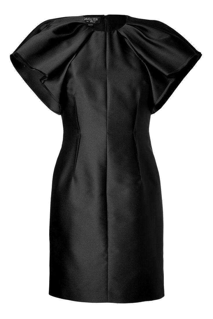 DUCHESS DRESS WITH RUFFLE SLEEVES GR. IT 46 GIAMBATTISTA VALLI