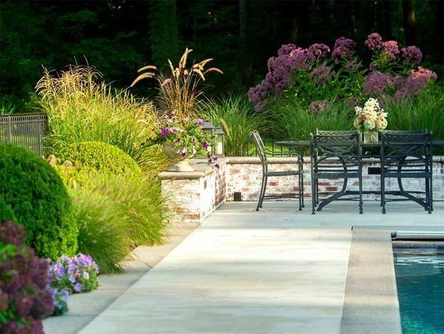"The Limestone Terrace ""Dream Team's"" Portland Garden Garden Design Calimesa, CA"