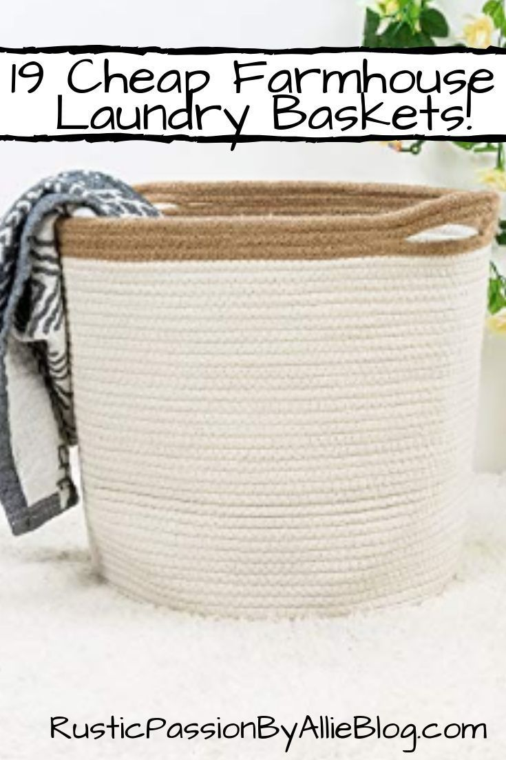 19 Stylish Laundry Hampers With Lids Other Farmhouse Laundry
