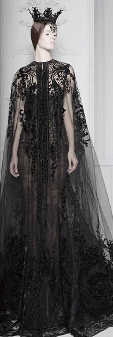 *ancient queen* by Michael Cinco-- Boy do I need a cloak like that, but how on earth could I feign a chance to wear it?