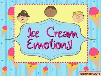 "+++++I+scream,+you+scream,+we+all+scream+when+we're+excited!+Students+learn+various+ways+to+express+emotion+with+this+fun+and+colorful+hands-on+activity.++Targets:+Descriptive+Language,+Vocabulary,+Identifying+Emotions,+and+Synonyms.++Lots+of+learning+with+over+40+emotions+and+""create+your+own""+++options.Here+is+a+blog+post+with+this+product+featured:+Ice+Cream+Anyone?"
