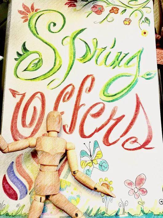 Buongiorno e buon inizio settimana    Vieni a scoprire tutte le offerte primavera    #offer #spring #2k17