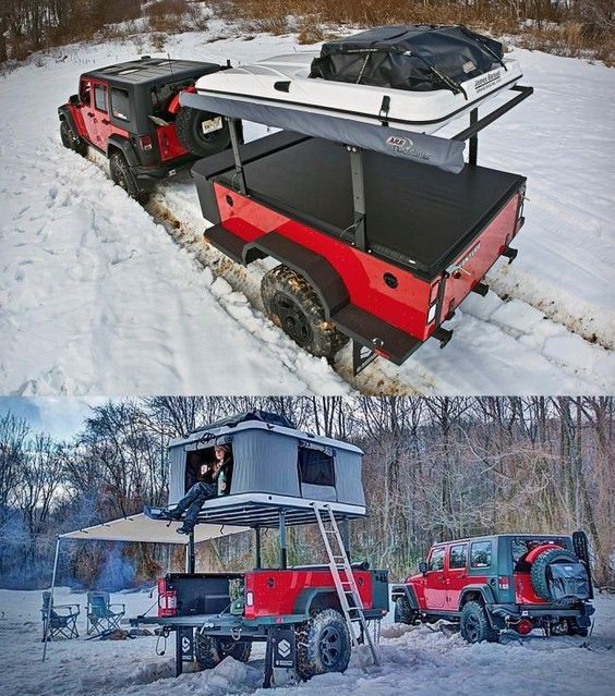 Schutt Industries XVENTURE XV-2 Off-Road Trailer    http://ok4wd.com/schutt-industries-xventure-off-road-trailer