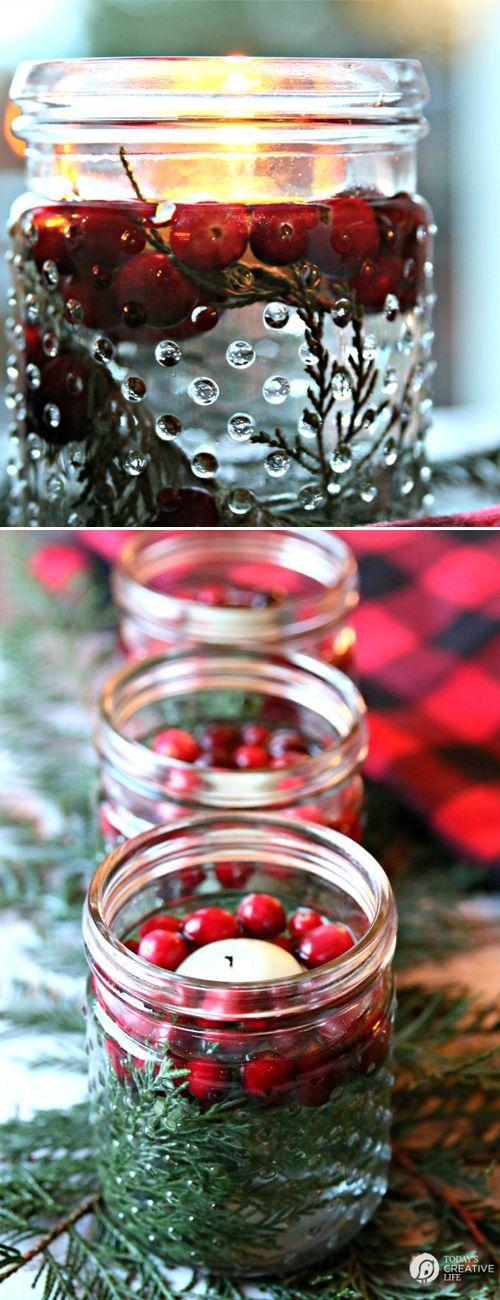 DIY Christmas Luminaries #diy #christmas #christmasideas #christmasdecor