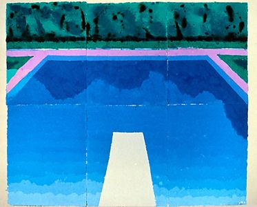DAVID HOCKNEY: WORKS / Paper Pools