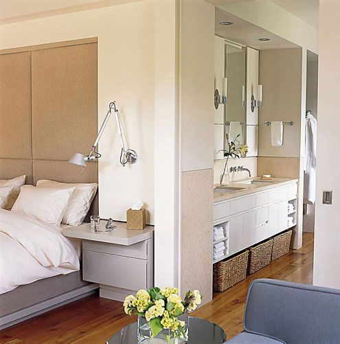 17 Best Images About Open Plan Bedrooms Bathrooms On