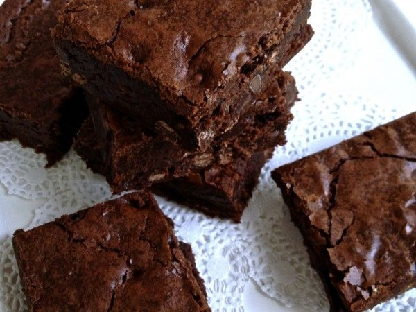 Outrageous Brownies -Recipe by Ina Garten – 20 large brownies | The ...