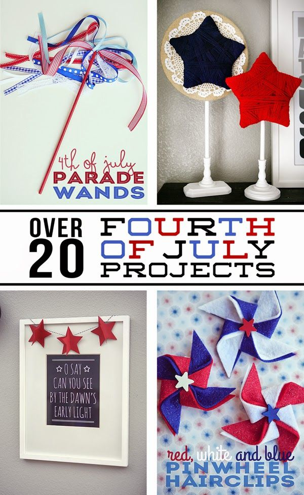 diy fourth of july banners