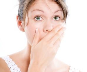 The bad breath