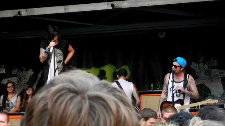 SWS - Kellin's Embarassing Moment - Warped Tour 2012 - July 24, Merriweather Post Pavilion