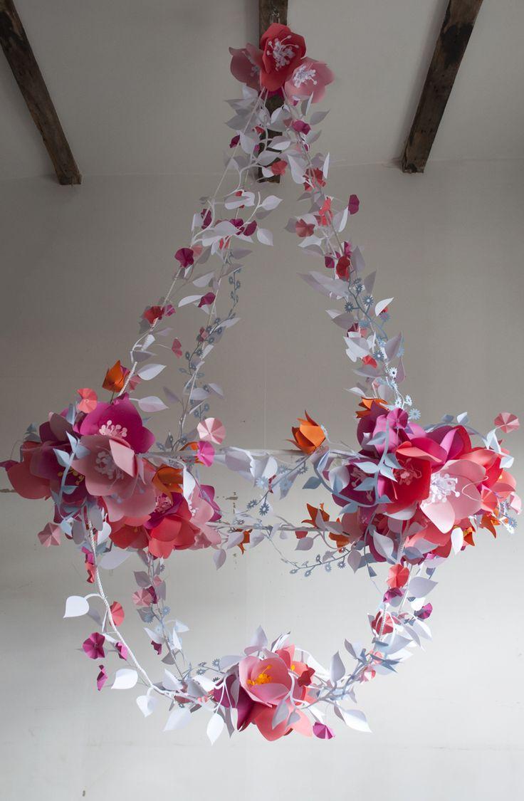 David Stark Design Paper Chandelier. 2012