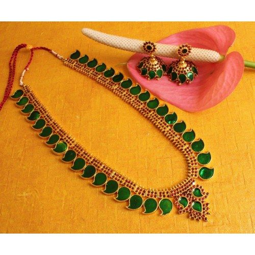 Online Shopping for BEAUTIFUL KERALA STYLE LONG HAAR JE | Necklaces | Unique Indian Products by Dreamjwell - MDREA95929111990