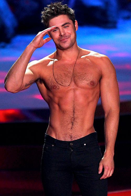 Zac Efron Gets SHIRTLESS & Hotter Than Ever In New