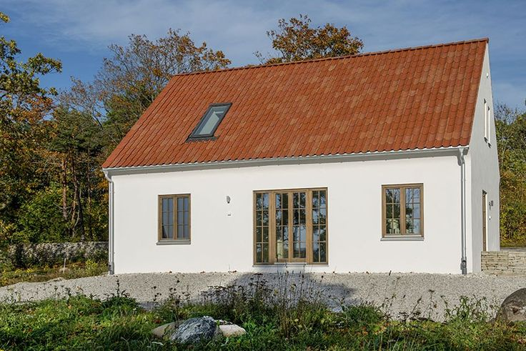 Emrahus passive house on Gotland, Sweden.