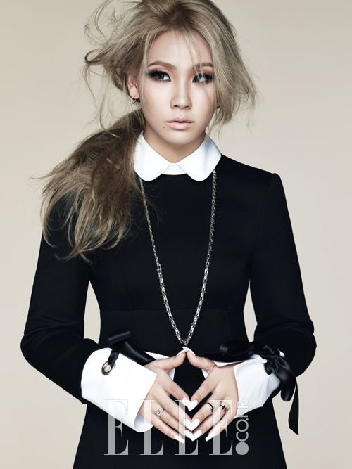 "CL - ""The one and only CL"" for Elle Korea Magazine October Issue '14"