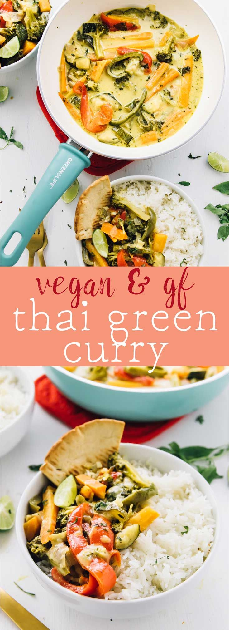 This Thai Green Curry takes only 30 minutes! All it takes is one pot, it's loaded with rich flavours, and is bound to be a crowd pleaser! via http://jessicainthekitchen.com