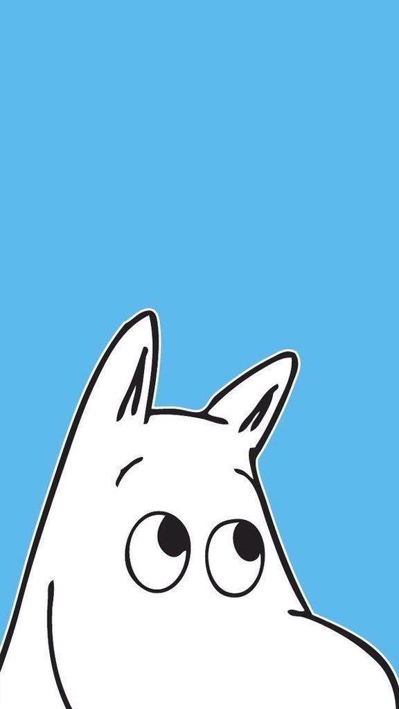 ムーミン/Moomin[03]iPhone壁紙 iPhone 5/5S 6/6S PLUS SE Wallpaper Background