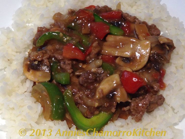 Permalink to: Beef Stir Fry with Mushrooms, Tomatoes, Bell Peppers and Onions