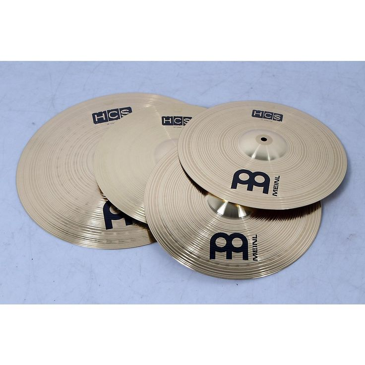 Meinl HCS Cymbal Pack with Free 14 Inch Crash  190839076762