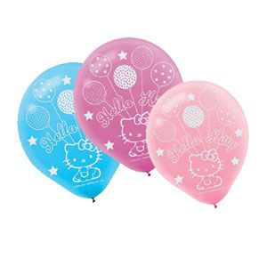 A118303 - Hello Kitty Latex Balloons Please note: approx. 14 day delivery time. www.facebook.com/popitinaboxbusiness